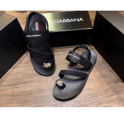 Dép quai hậu Dolce Gabbana – phối đồ sao cho đẹp