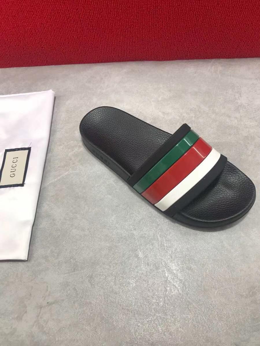 Dép Gucci nam siêu cấp quai ngang hoạ tiết nhiều màu DGC04